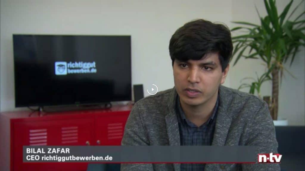 Bilal Zafar bei n-tv