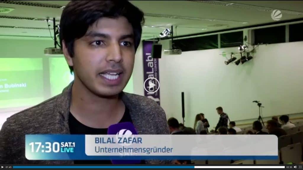 Bilal Zafar bei Sat.1