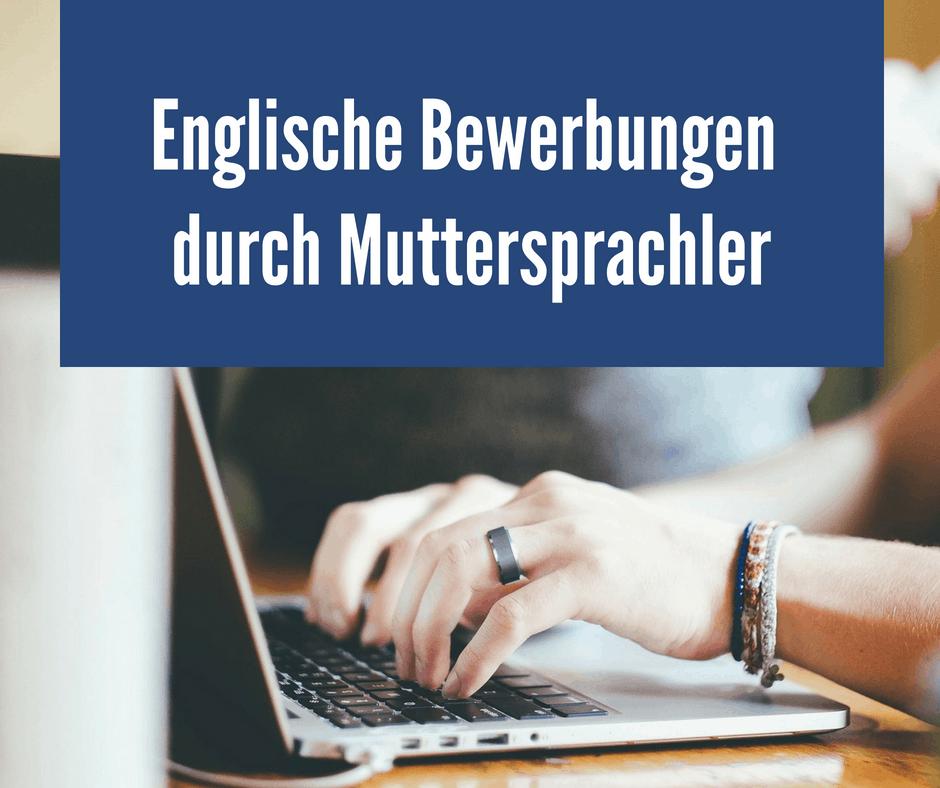 Bewerbungsservice Englisch Hilfe Bei Der Englischen Bewerbung
