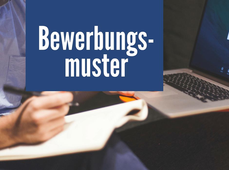 bewerbungsmuster premium vorlagen als word download - Bewerbung Muster Download