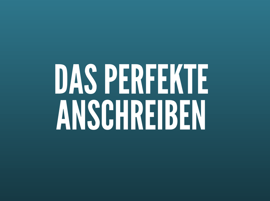 bewerbungsanschreiben 4 premium muster text vorlagen - Perfektes Anschreiben