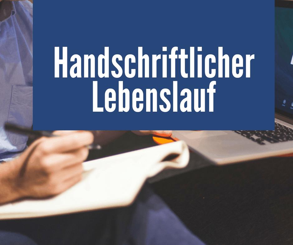 Handschriftlicher Lebenslauf Wie Viele Seiten Sollte Man Schreiben