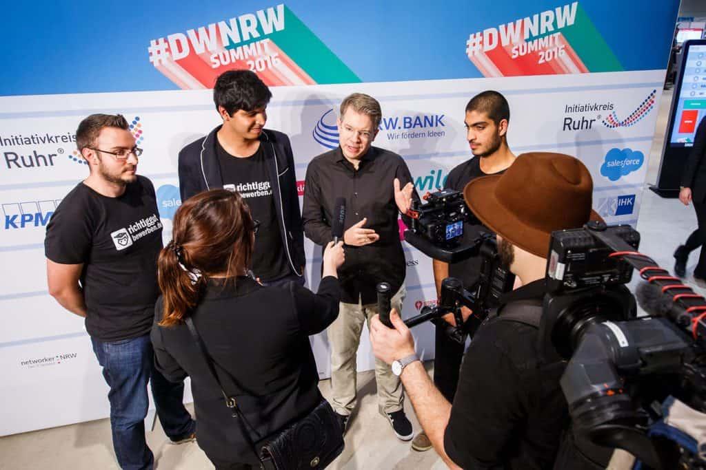 Digitale Wirschaft NRW, 1. DWNRW Summit im Sanaa Gebäude auf Zollerein am 25.11.2016. Foto: Udo Geisler