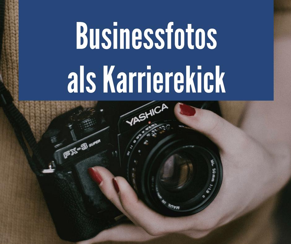 Businessfotos als Karrierekick