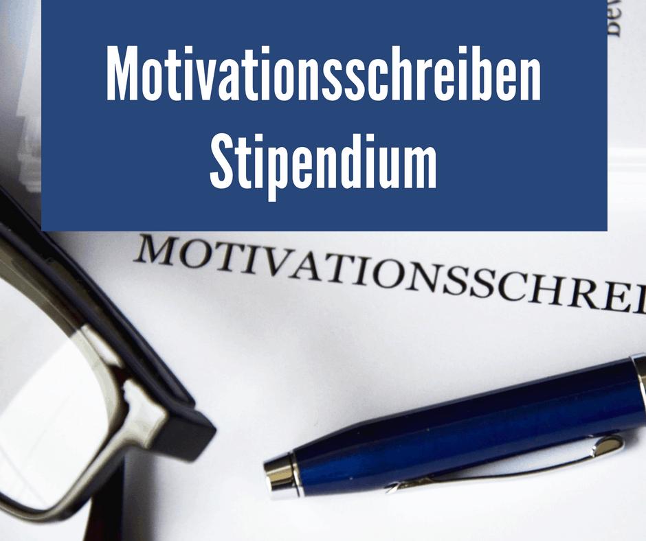 Motivationsschreiben Stipendium So Klappts Garantiert