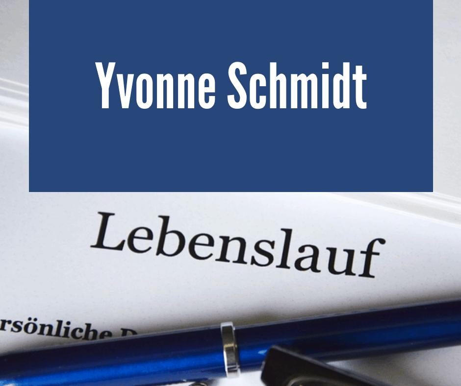 Yvonne Schmidt Ihr Profi In Sachen Bewerbungen Bewerbung